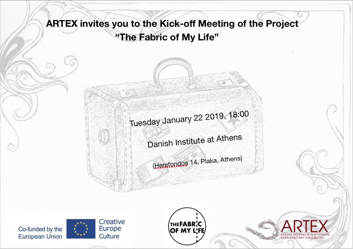 Kick-off Meeting FABRIC invitation