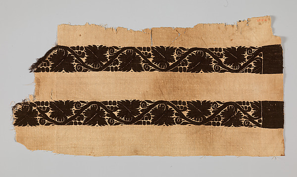 MET Late antique textiles and modern design