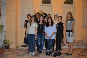 Η απογευματινή βάρδια της ARTEX team στην ημερίδα (Οκτώβριος '16)