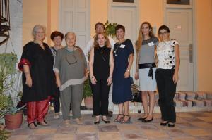 Οργανώτριες, εταίροι του ARTEX και ομιλητές της ημερίδας.