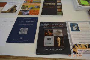 Books, ARTEX workshop.
