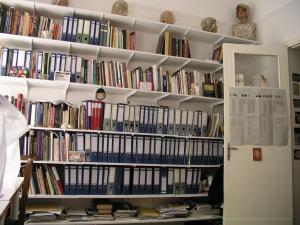 Άποψη 1 της Βιβλιοθήκης του ARTEX.