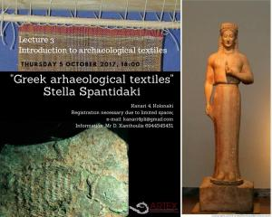 Introduction to archaeological textiles Stella Spantidaki|www.artextiles.org