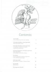 Αράχνη Γ' Τεύχος, αγγλική μετάφραση, περιεχόμενα.